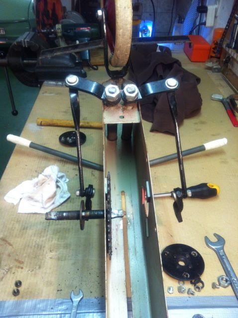 Cyclo Skiff Reparatur