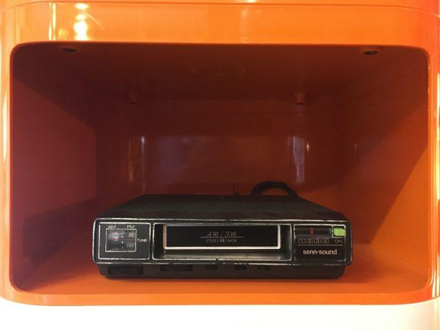 8-Track + Radio Player