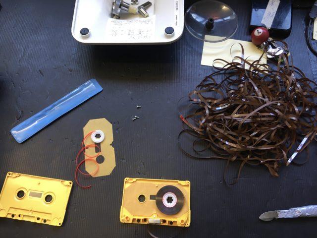 Philips Kassetten Reparatur
