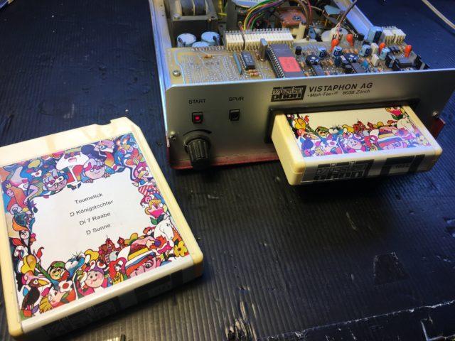Vistaphon Reparatur