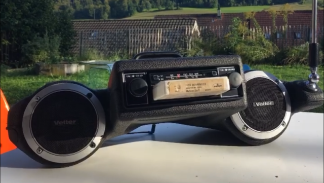8-Track Player Made by Vintageuniverse