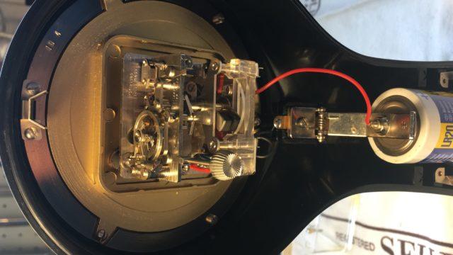 Elektromechanisches Uhrwerk